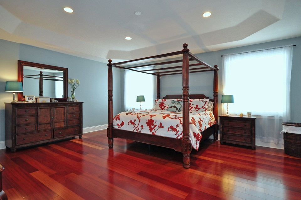 exceptional cherry wood floor bedroom kitchen